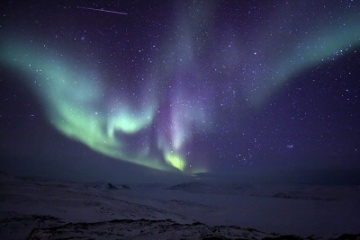 Northern lights anywhere in the world!