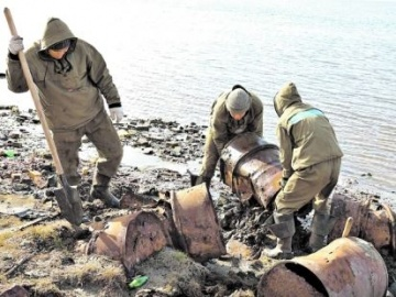 Cleanup on Bely Island